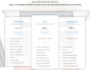 what is jaaxy keyword tool
