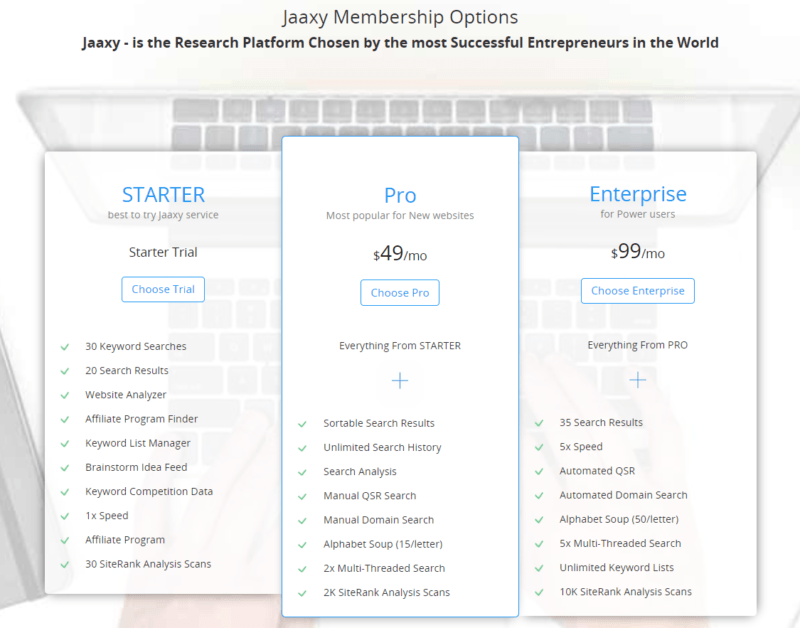 what is jaaxy keyword tool
