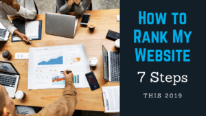 How To Rank My Website
