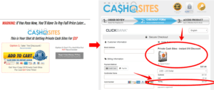 what is private cash sites
