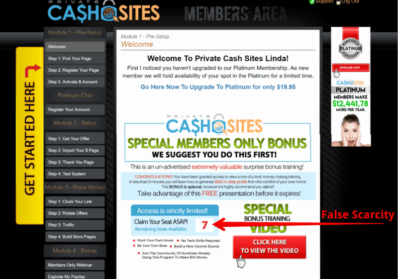 Is Private Cash Sites Scam