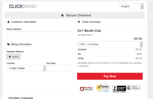 24-7 Wealth Club Review