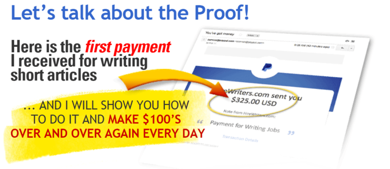 Is Writing to Wealth Scam