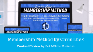 Membership Method  Membership Sites Full Specifications