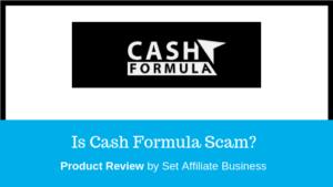 cash formula scam