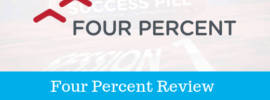 what is four percent challenge about
