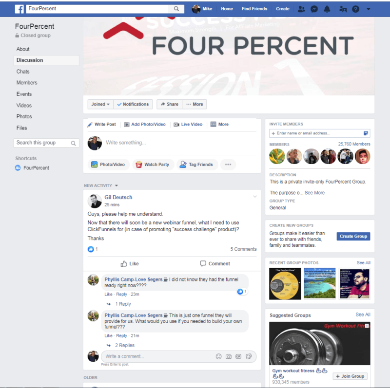 Four Percent Challenge Review