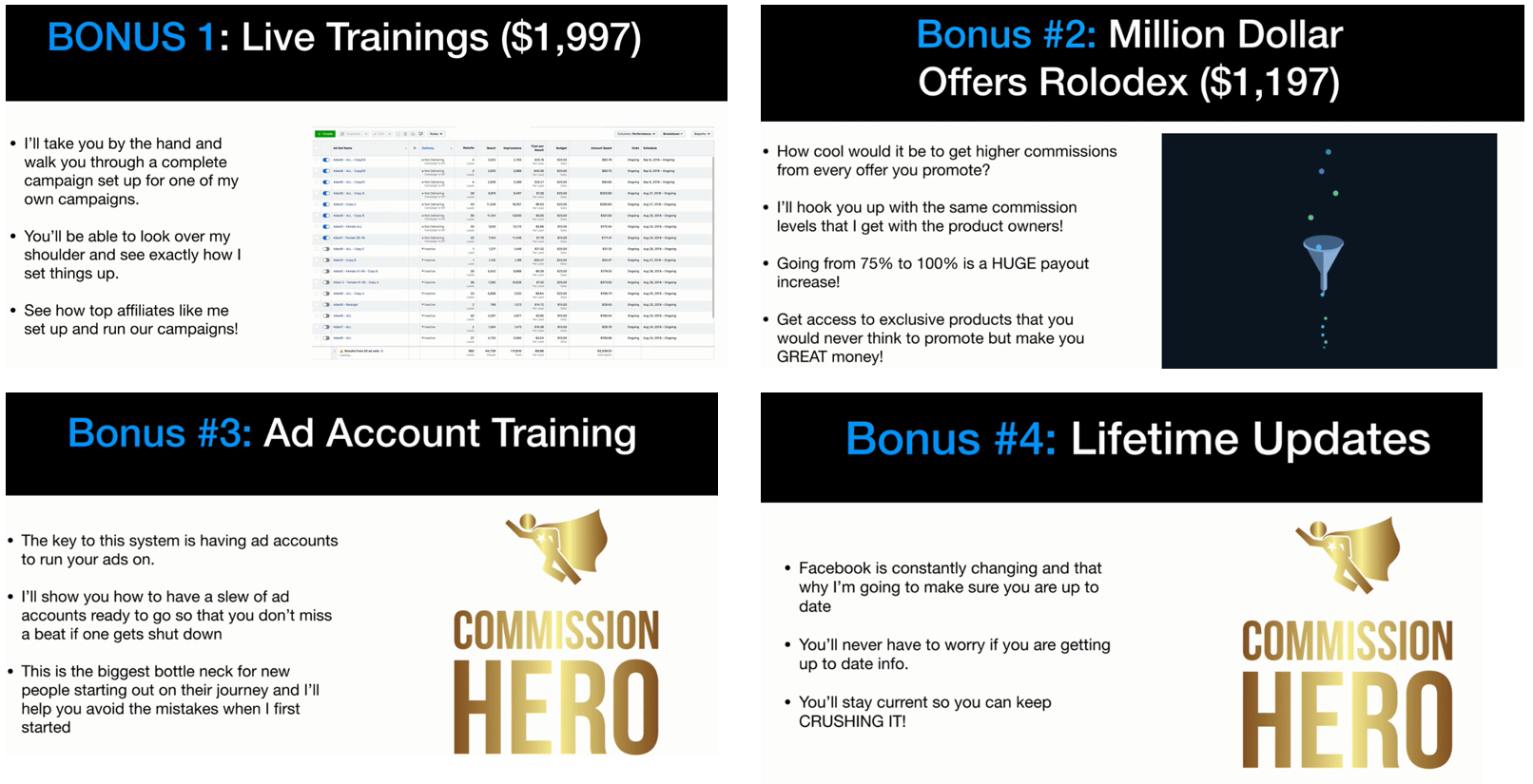 Buy Affiliate Marketing  Commission Hero Fake Working