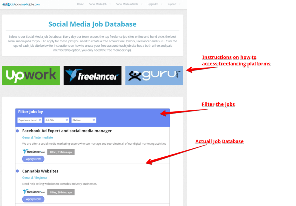 what is paid social media jobs