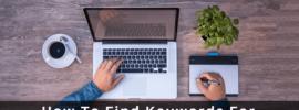 How To Find Keywords For Website