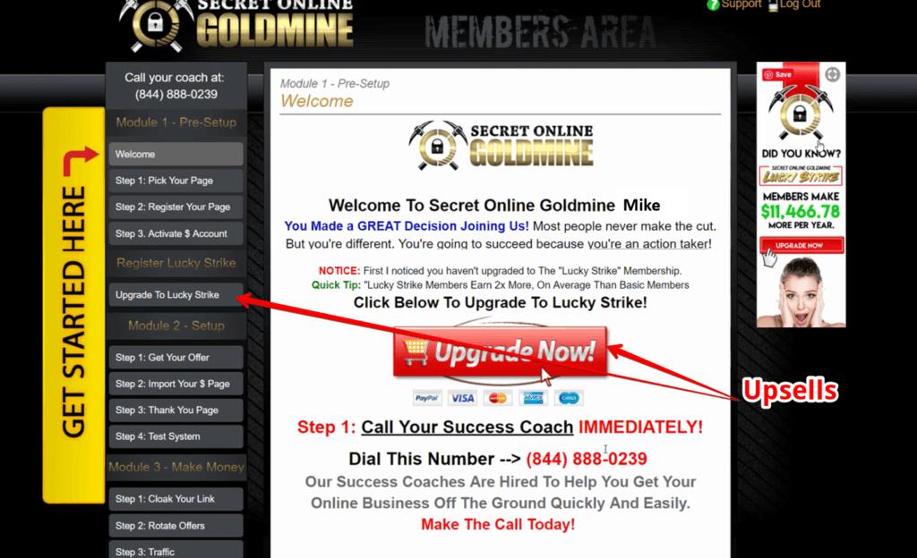 What is Secret Online Goldmine