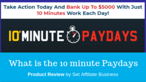 What is 10 minute Paydays