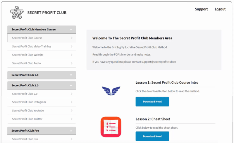 Secret Profit Club