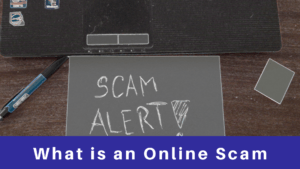 What is an online Scam