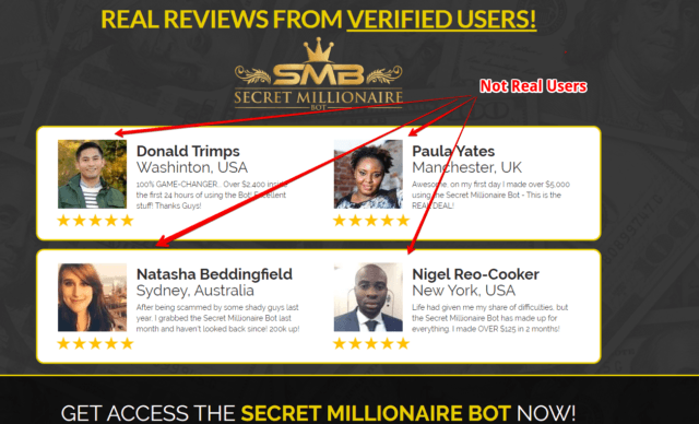 What is Secret Millionaire Bot
