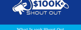 what is 100k shout out