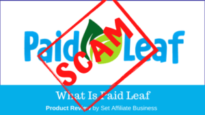 Is PaidLeaf a scam