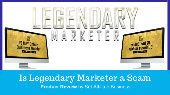 Specification  Internet Marketing Program Legendary Marketer