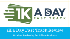 Price On Ebay 1k A Day Fast Track Training Program