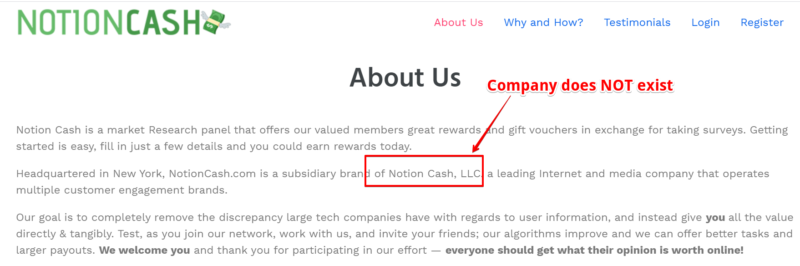 Is Notion Cash a Scam