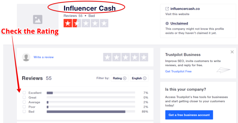 Is Influencer Cash a Scam