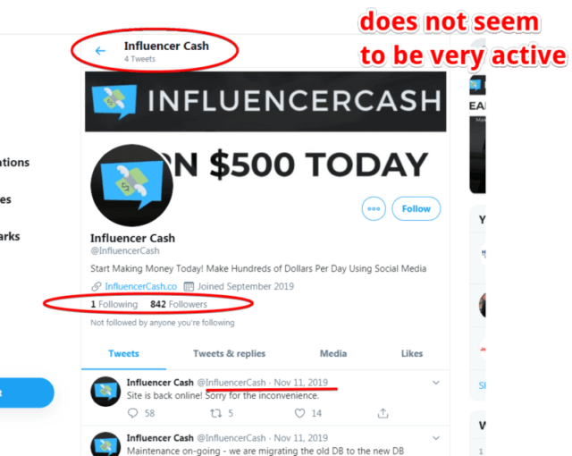 Is Influencer Cash a Scam