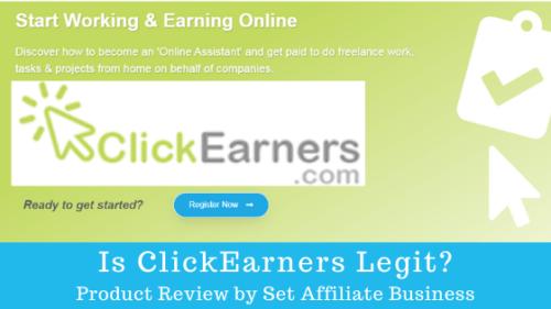 Is ClickEarners Legit?