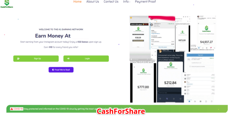 ShareToEarn Review