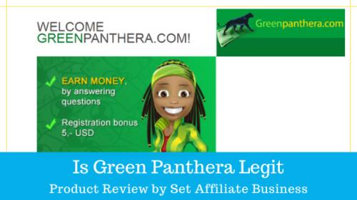 Is Green Panthera Legit