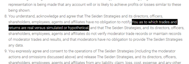 Is The Seiden Strategies a Scam