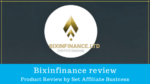 Bixinfinance review
