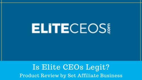 Is Elite CEOs Legit