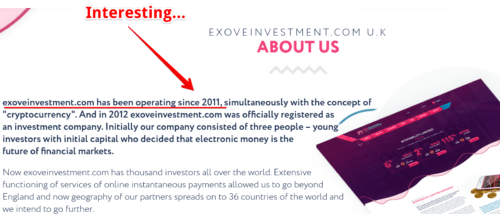 Exove Investment Review
