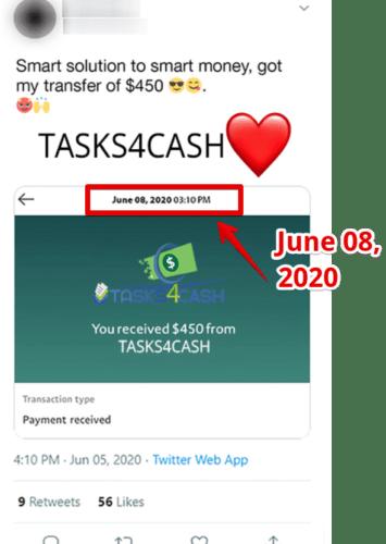 Tasks4cash Review